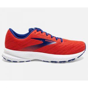 Brooks Running launch 7 rouge bleu homme 44