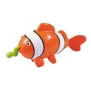 Tigex Jouet de bain : Nageur à fil poisson clown