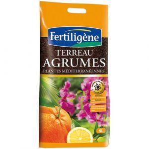 Fertiligene Terreau agrumes et plantes méditerranéennes 6L