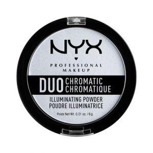 NYX Cosmetics Duo Chromatic Illuminating Powder ~wilight Tint 01