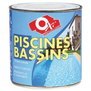 Oxi Peinture piscine et bassin extérieur OXYTOL blanc 0.5 L