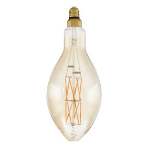 Eglo LM_LED_E27 Ampoule Plastique 8 W Transparent 40,3 x 14 cm, Plastique, Transparent, Ø 14 cm Höhe 33 cm 8watts 240volts