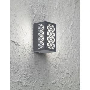 Wofi Spot mural extérieur LED ALU lampe lanterne motif de jardin lampe design anthracite 4101.01.88.7003