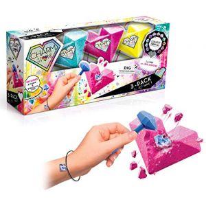 Canal Toys Pack de 3 bracelets Charm Stone