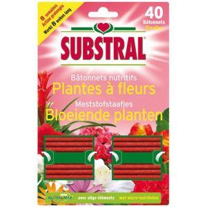 Substral 40 bâtonnets nutritifs pour plantes à fleurs
