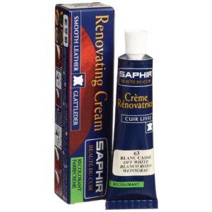 Saphir Crème rénovatrice 25 mL - blanc cassé