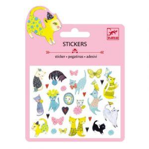Djeco Mini-stickers Chats