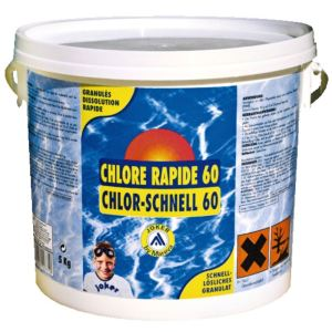 Mareva 100112 - Reva-Klor : Chlore rapide 60 - 5 kg
