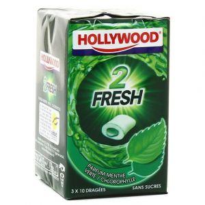 Hollywood Chewing gums sans sucre menthe verte
