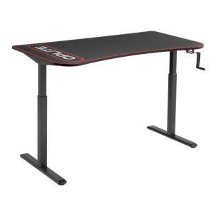 OPLITE Suprême Desk Bureau gaming e sport avec hauteur ajustable 160x80x75 à 124cm