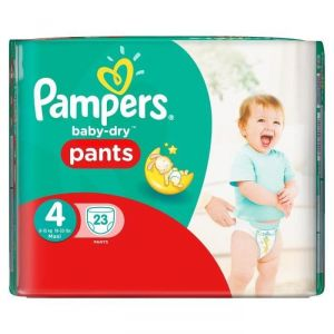 Pampers Baby-Dry Pants taille 4 Maxi 8-15 kg - 23 couches