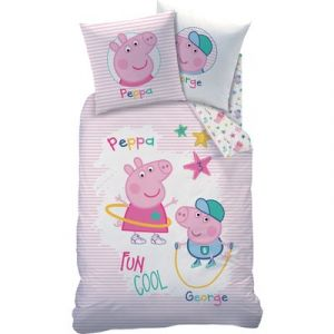 Cti Parure de lit Peppa Pig Récréation