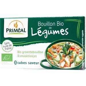 Image de Priméal Bouillon de légumes en cube - 72 gr