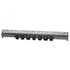 Wirquin Caniveau grille gouttes Express'Eau 865x43 mm