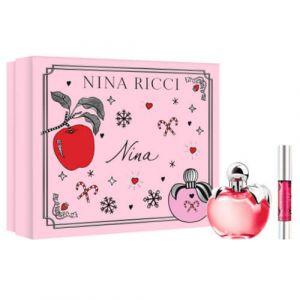 Nina Ricci LES BELLES DE NINA - Coffret Eau de Toilette+rouge à Lèvres