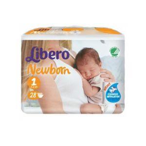 Libero Free Newborn Pann 1 28pz