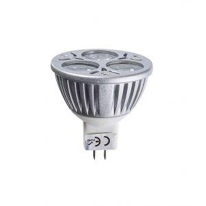 Edison Giocattoli Ampoule LED GU5.3 MR16 TriLED 3x2W 6W 320-370Lm Blanc Chaud 60° 12V EDISON