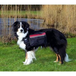 Trixie Sac à dos pour chiens - L: 28 x 18 cm, noir