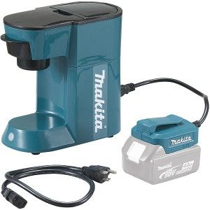 Makita MAK-DCM500Z - Machine à café 18 V Li-ion (machine seule)