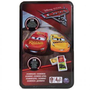 Spin Master Boîte métal Dominos Cars 3