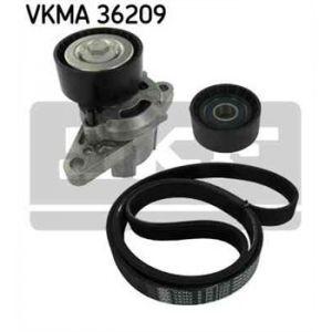 SKF Kit de courroies d'accessoires VKMA36209