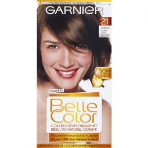 Garnier Belle Color Coloration permanente 21 châtain clair doré naturel