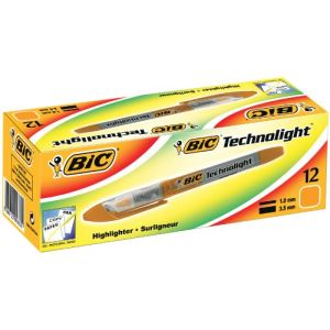 Bic Surligneur Technolight pointe biseautée