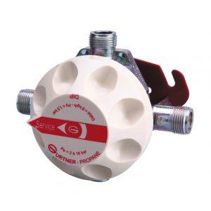 Gurtner DILP Détendeur Inverseur Limitateur Propane NF 20kg/h 1,5 bar