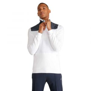 Le Coq Sportif Sweat-shirt Sweat zippé blanc homme blanc - Taille EU XXL,EU S,EU M,EU L,EU XL