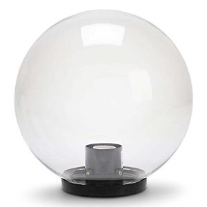 Velamp Lampion D'exterieur - Lanterne D'exterieur - Sphère d'extérieur en PMMA, 250mm, E27, transparente