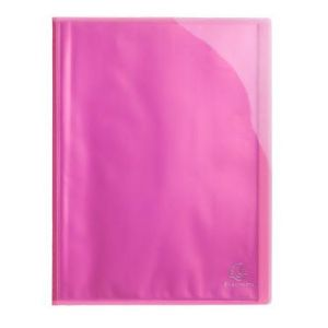 Exacompta 85874E - Protège-documents IDERAMA PP, 80 vues, rose