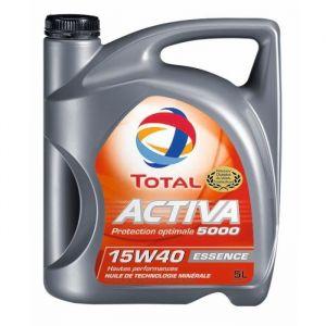 Total Huile moteur Activa 5000 15W40 Essence 5 L