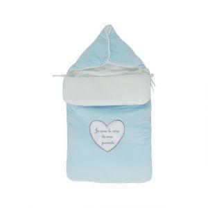 6b6063eec6402 Fruit de ma Passion Nid d ange pour bébé 0 à 6 mois bleu -