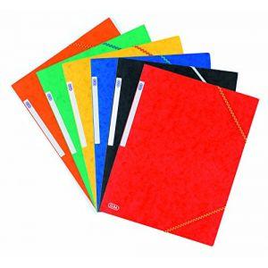 Elba Chemise 3 rabats élastiques Topfile - carte lustrée - coloris assortis