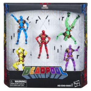 Hasbro MARVEL AVENGERS Figurines Deadpool - Pack de 5 - C3989EU40