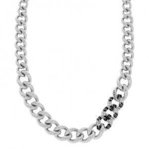 Guess Ubn51456  - Collier en métal argenté pour femme