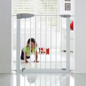 Lindam Easy close - Barrière de sécurité métal 75-82 cm