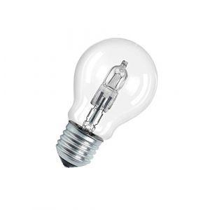 Osram Lot de 5 ampoules halogènes Eco standard E27 - 46 W - claire - Halogène standard, flamme