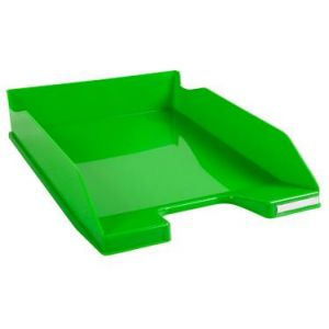 Exacompta 113295D - Corbeille à courrier COMBO MIDI, vert pomme brillant