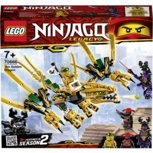 Lego Ninjago - Le dragon d'or - 70666