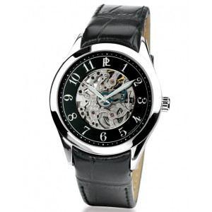 Pierre Lannier 315A1 - Montre pour homme bracelet en cuir Automatique
