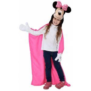 Plaid à capuche Disney Minnie (100 x 100 cm)