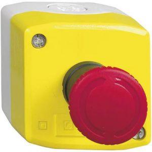 Schneider Electric Boite jaune Arret Urgence Tourn. pour Dev (Merlin Gerin)