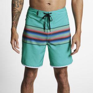 Nike Boardshort Hurley Phantom Baja Malibu 45,5 cm pour Homme - Vert - Couleur Vert - Taille 34