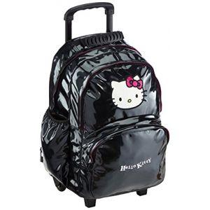 Sanrio HPR22080 - Sac à dos roulettes Hello Kitty 45 cm