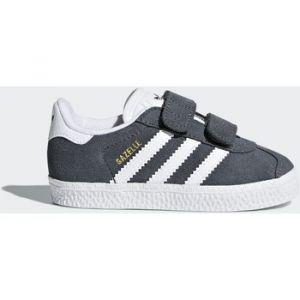 Adidas Gazelle CF I, Chaussures de Fitness Mixte Enfant, Gris (Grpudg/Ftwbla/Ftwbla 000), 27 EU