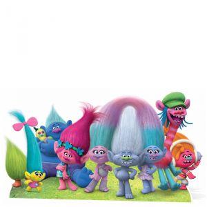Figurine en carton personnages Trolls