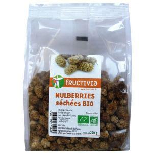 Fructivia Mulberries séchées Bio (200g)