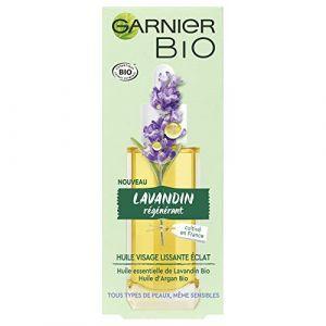 Garnier Bio Huile visage Lissante éclat Lavandin