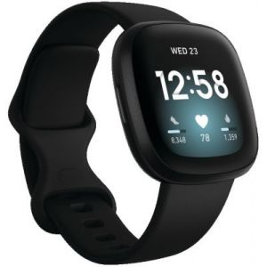 Fitbit Versa 3 Noir - Montres multisport
